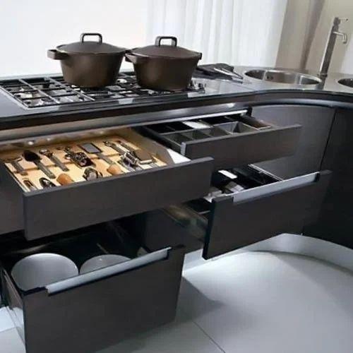 100 Hettich Modular Kitchen Rs 1500 Psft Vivin Chand Design Id