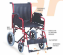 PERLA LIFT- Premium Steel Wheelchair