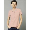 Cotton Ladies Collar T-shirts, Size: Xl