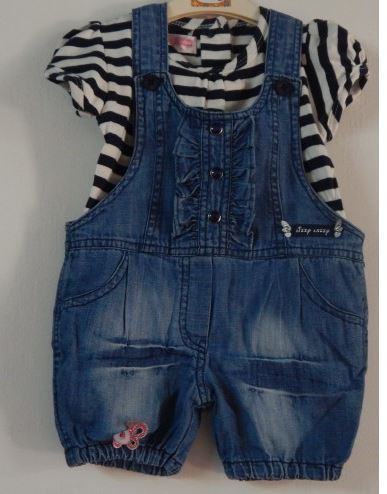 b1a55772094e Lizzy Lazzy Baby Girl Romper Denim at Rs 995
