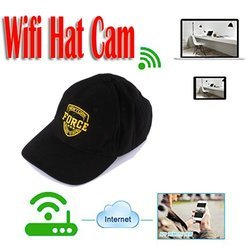 HD Wireless Cap Hidden SPY Wifi Camera
