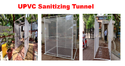 UPVC SANITIZING TUNNEL
