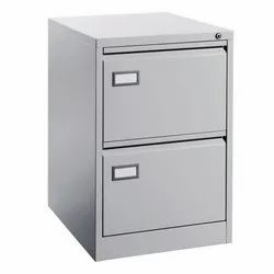 Fonzel FCV20 Two Drawer Metal Vertical Filing Cabinet