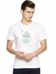 Cotton Men Round neck Tshirts