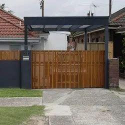 GI Wood Gate