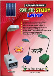 Solar Rechargable Study Lamp LED