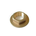 Rathod Premium Finish Brass Nuts For Automobile Industry, Size: 2 Mm To 20 Mm