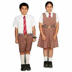Coller Neck Half Sleeve Cotton School Uniform