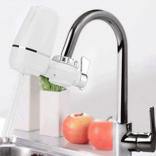 Plastic White Kitchen Faucet Tap Water Filter, For Home, Rs 310 /piece |  ID: 21706054797