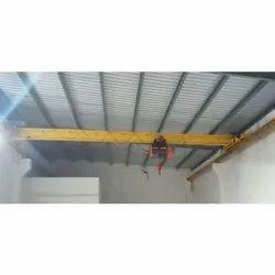 Warehouse Single Girder EOT Crane