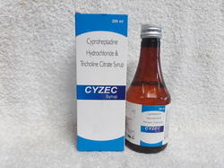 Cyproheptadine HCL 2mg Tricholine Citrate 2mg