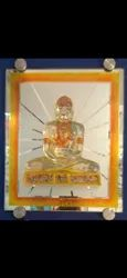 Gautam Buddha Glass Resin
