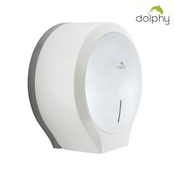 White Toilet Paper Dispenser