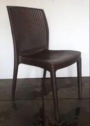 Diya Black,Brown Beeta Chair Armless, 1 Year