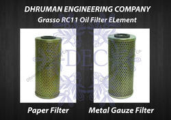 Grasso RC11 Oil Filter Assembly