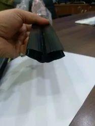 Black PVC Shower Door Seal