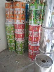 Printed Lamination & Silver Paper Roll, Paper Grade: 180 Gsm