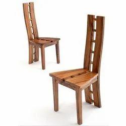 Sunny Overseas Wooden Designer Study Chair, Brown