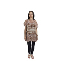 Georgette Ladies Printed Tunic Top, Size: S-L