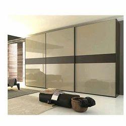 Wood Modular Bedroom Wardrobe, For Home