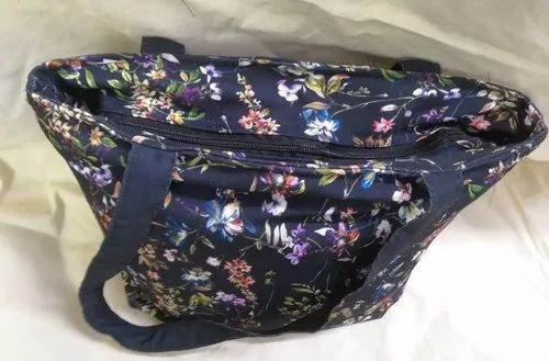 Multicolor Handled Printed Cotton Bags