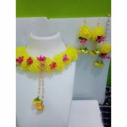 Bright Yellow Flower Jewellery