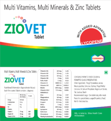 Multivitamin-Minerals Zinc Tablets