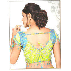 Silk Stitched Fancy Blouse