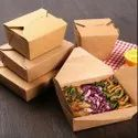 Craft Paper Takeaway Box