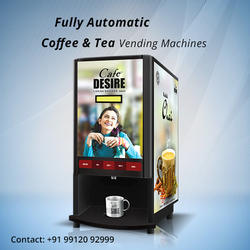 COFFEE TEA VENDING MACHINE (2 LANE)