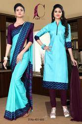 Uniform Saree and Salwar