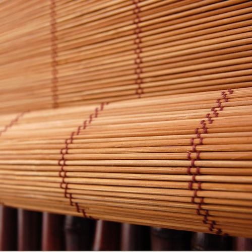 Brown Bamboo Blind Rs 135 Square Feet Shree Enterprises