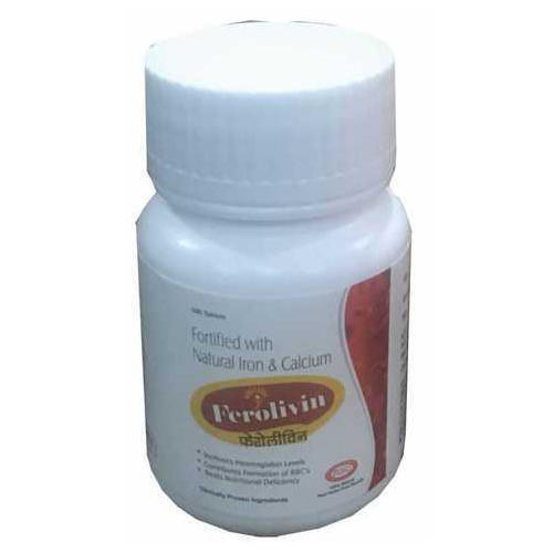 Herbal Iron Tablet, 100 Tablets