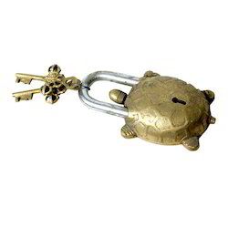 Brass Turtle Lock