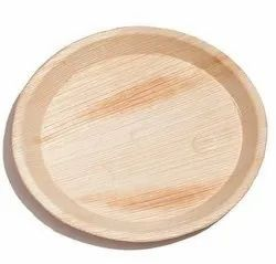 Natural Areca Plate Round 8 Inches, N/A, for Event and Party Supplies