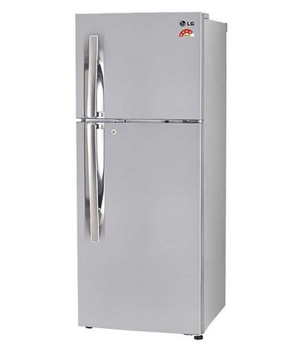 shiny french steel double door lg rs proddetail at piece refrigerator