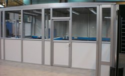 Aluminium Frame Office Partition