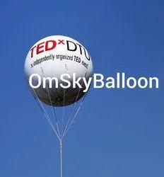 White Sky Balloons