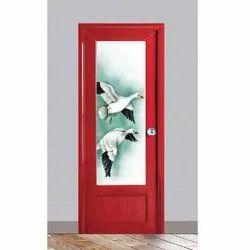 Designer PVC Bathroom Door