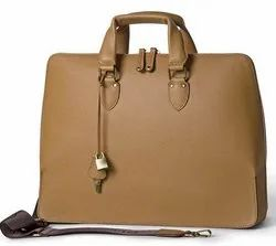 Leather Women S Laptop Office Bag
