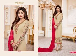 Multyple Color Georgette With Embroidery Work Suits