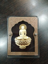 Mahavir Gold Leaf Frame 24 kt.