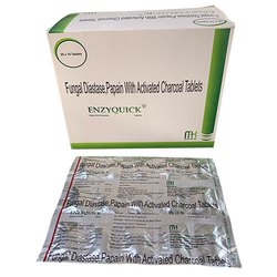Fungal Diastase Papain With Activated Charcoal Tablets