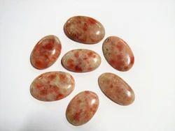 Indian Natural Loose Gemstone Flat Back Cabochon Crystals