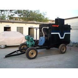 2.5 ton. Cap.Trolley Mounted Bitumen Sprayer