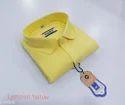 Mens Lemon Yellow Shirt
