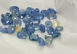 Astrology Natrual Cylone Blue Sapphire Gemstone, Packaging Type: Packet