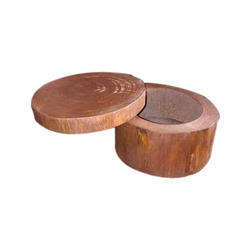 Sheesham Wood And Also Available In Pine Wood Round Wooden Designer Box