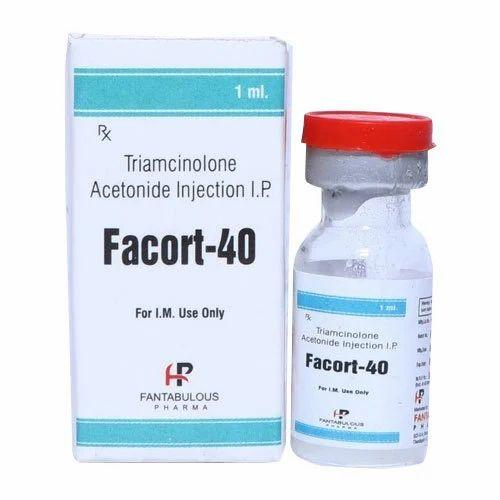 Triamcinolone Acetonide Injection IP, 1ml | ID: 20102488373