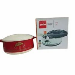 Plastic Printed Cello Insulated Hot Pot, Capacity: 1500 mL